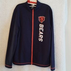 Chicago Bears NFL EX3 zipper jacket
